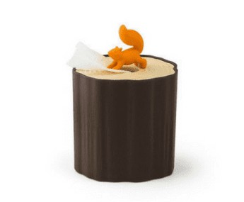 SQUIRREL TISSUE PAPER DISPENSER