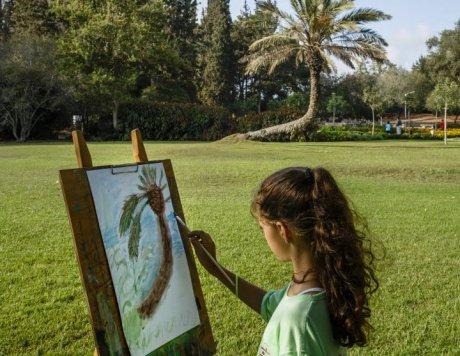 Ramat Handiv gardens, Zichron Yaacov, Israel.