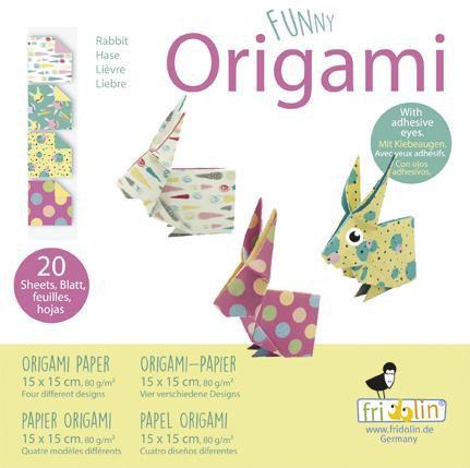 אוריגמי פאני ארנב
