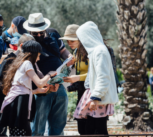 Ramat Hanadiv, Passover 2021, Zichron Yaacov Israel.